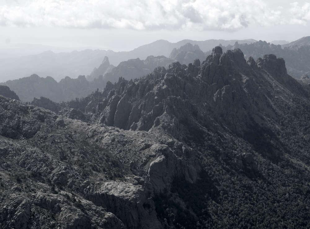 Corse, les fameuses aiguilles de Bavella