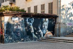 Corso di Porta Ticinese, murales