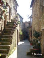 Corte del borgo medioevale.