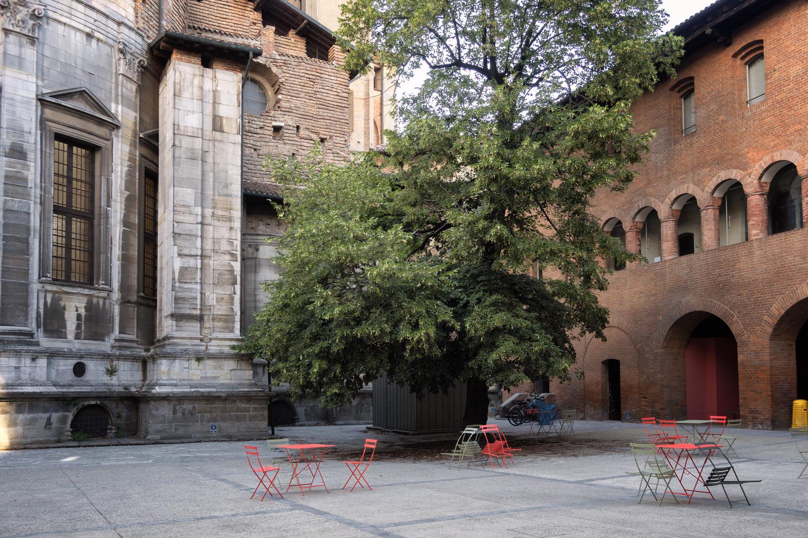 Cortile del Broletto, Pavia