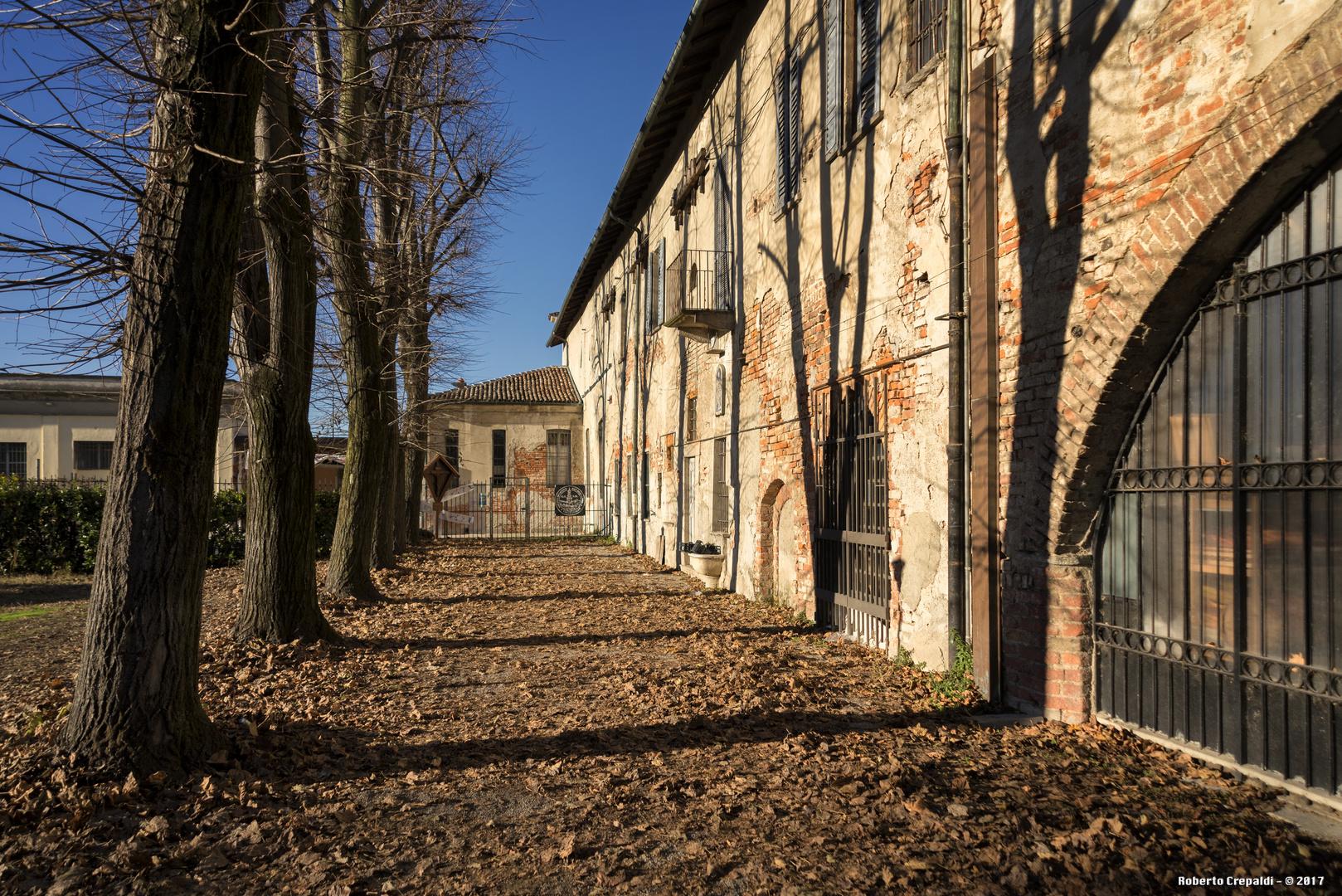 Cortile dell'Abbazia di Chiaravalle