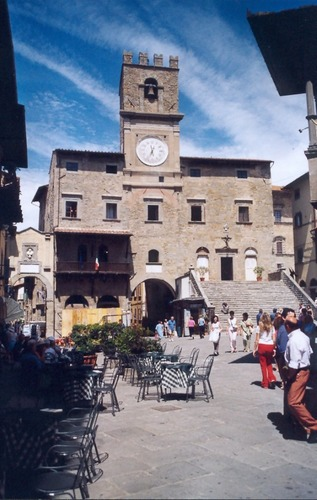 Cortona (494 - 650 m.ü.M.), Palazzo Comunalo