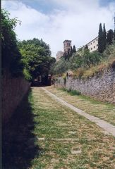 Cortona, Aufstieg zur Santuario di S. Margherita