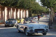 Corvette Ausfahrt Schwetzingen