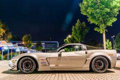 Corvette im glanze der Nacht