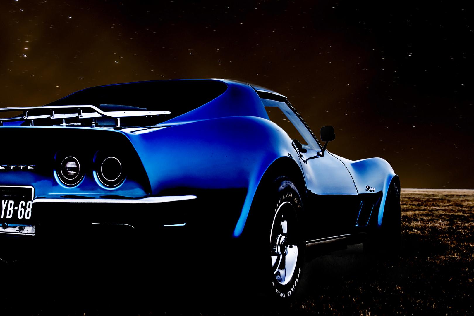 Corvette @ night