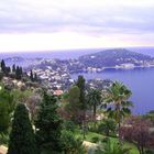 costa azzurra: vista panoramica su Cap Ferrat provenendo da Nizza