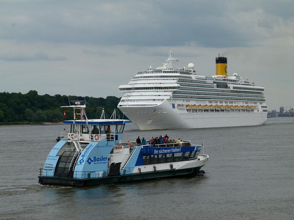 Costa Pacifica kann beruhigt sein,unser Hafen ist sicher:-))))