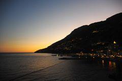Costiera Amalfitana - sunset