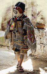 Costume de la danse des singes