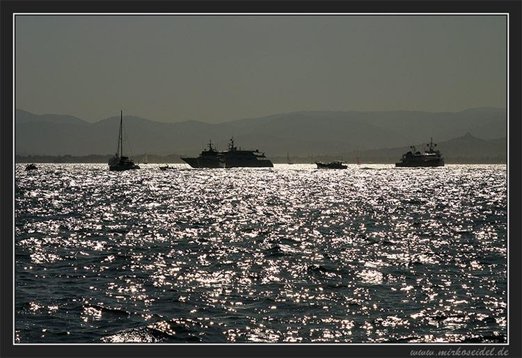 Côte d`Azur - im Gegenlicht