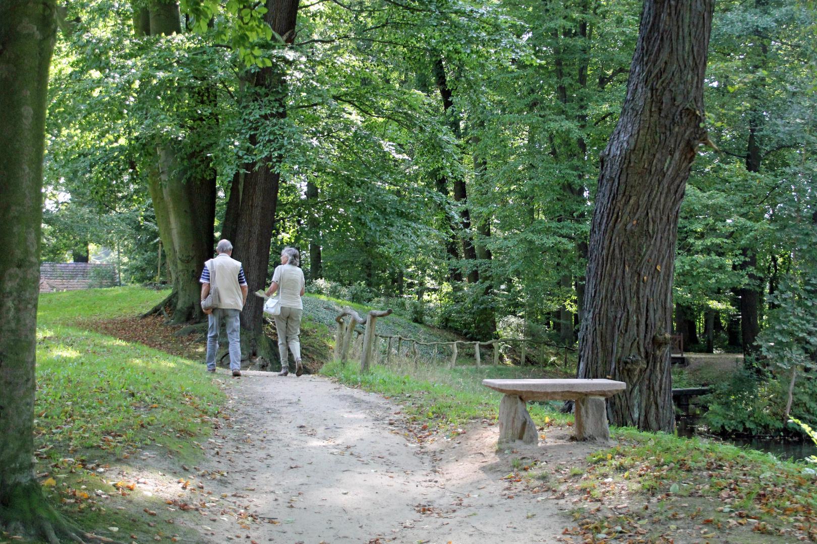 "Cottbus, Branitzer Park: Partie am ""Verlorenen Bauer"""