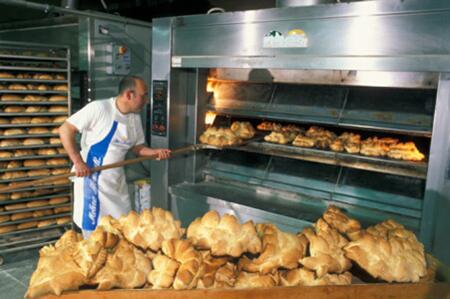 Cottura del pane coccoi - Sardegna