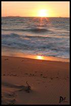 ... coucher de soleil ...