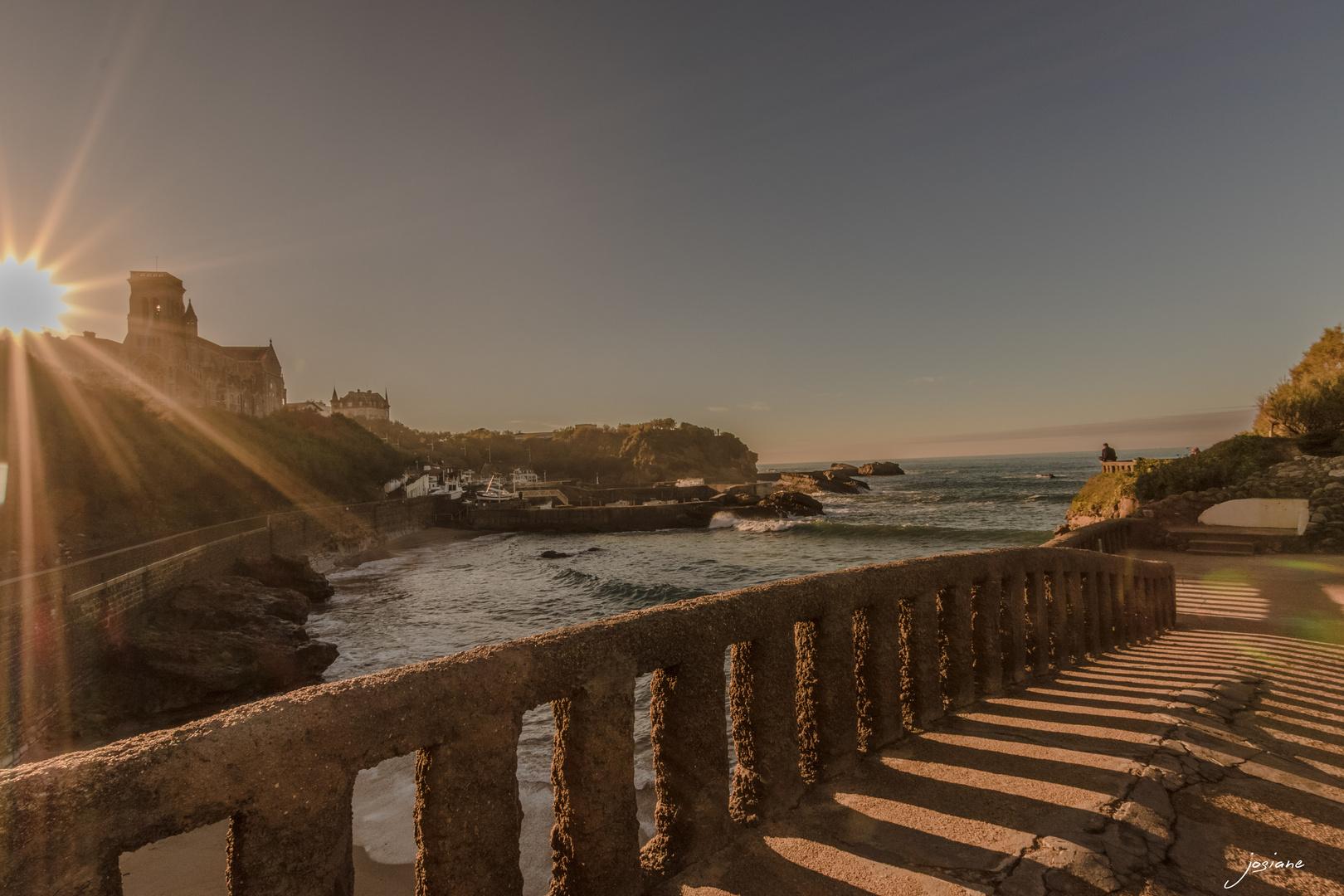 coucher de soleil a biarritz photo et image nature coucher de soleil paysages images. Black Bedroom Furniture Sets. Home Design Ideas