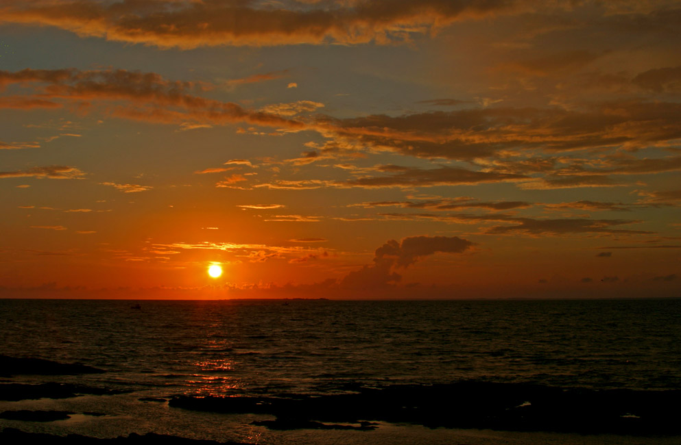 Coucher de soleil à Piriac-sur-Mer