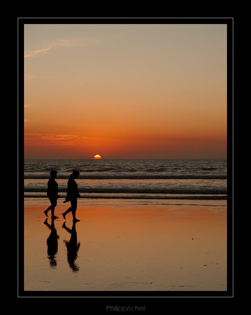 coucher de soleil Agadir