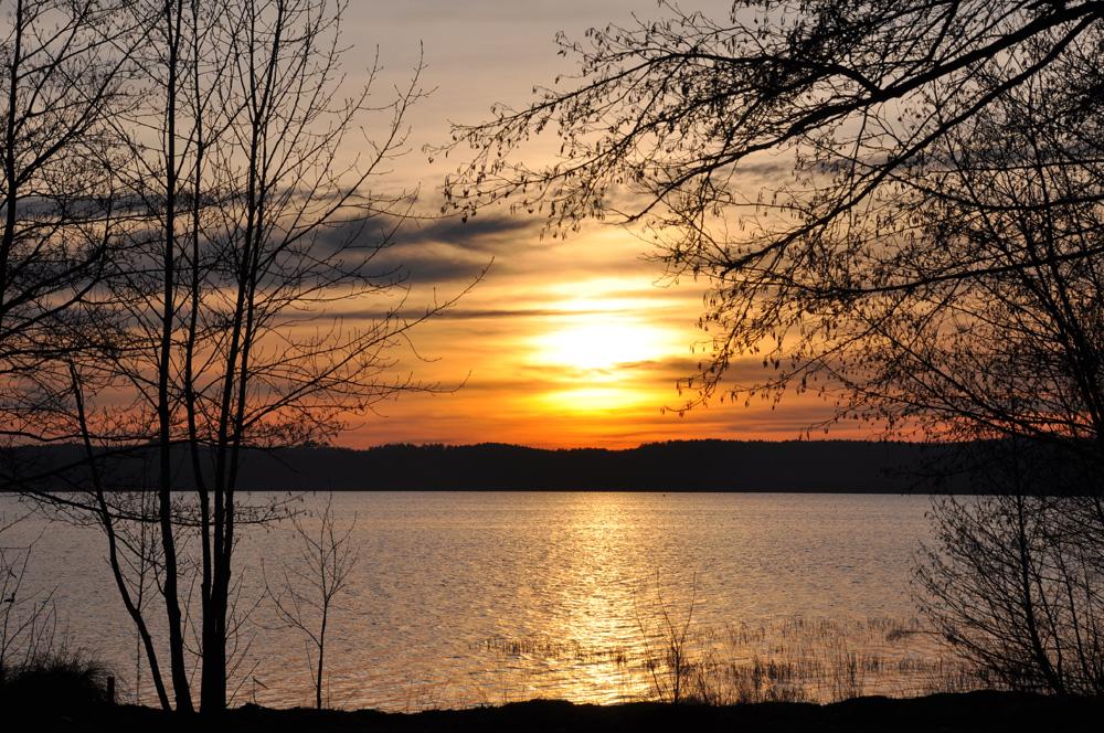 coucher de soleil au lac !!! (fin)