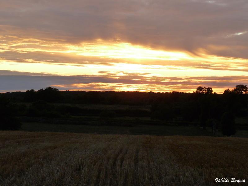 coucher de soleil Berrichon