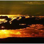 Coucher de soleil californien