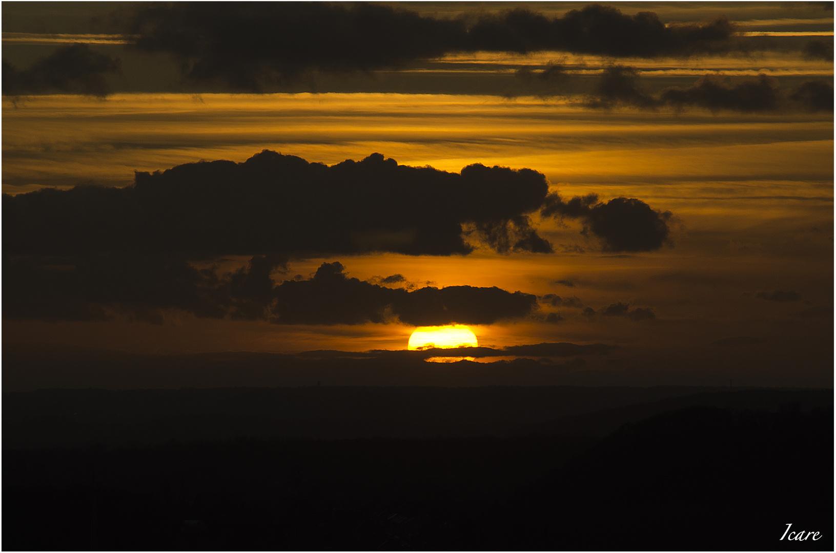 Coucher de soleil du 07/01/2012 (2)