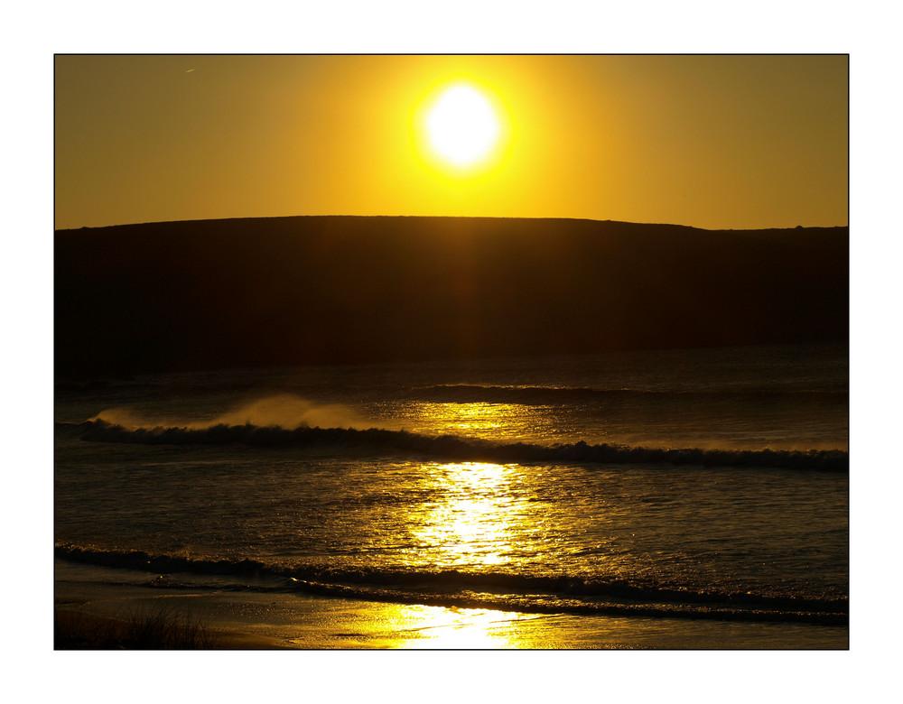 Coucher de soleil en Bretagne 1