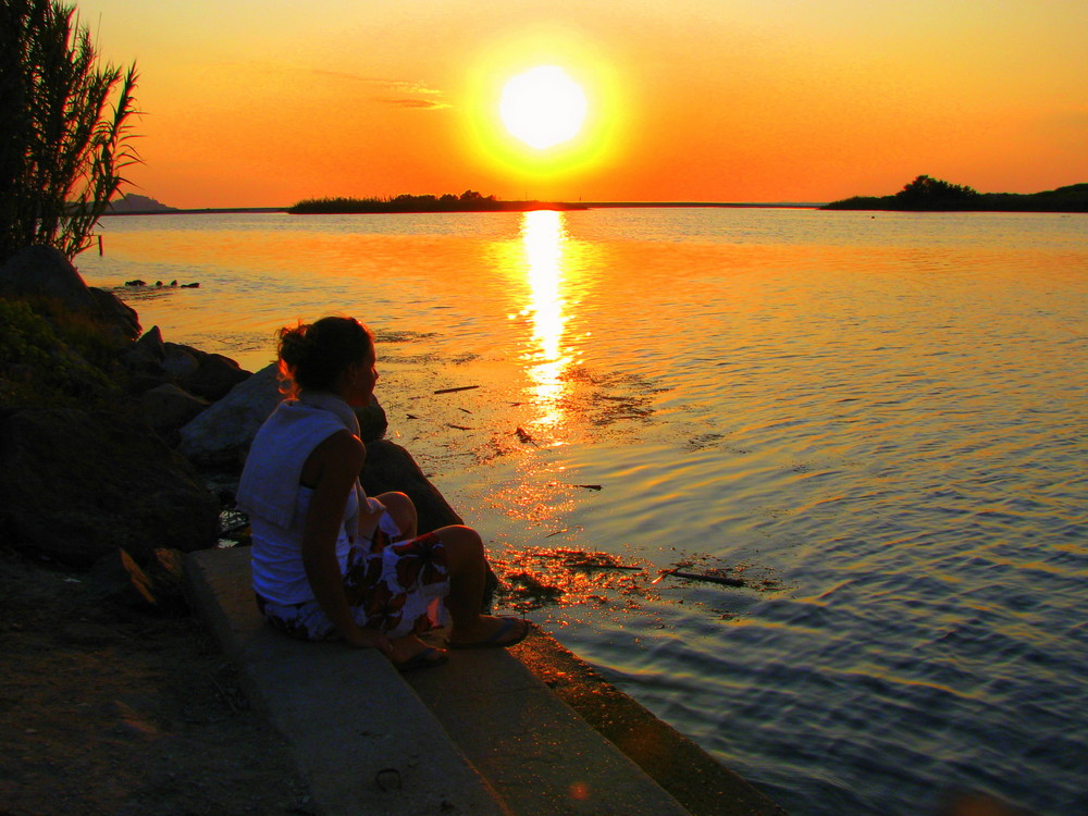 Coucher de soleil en Sardaigne
