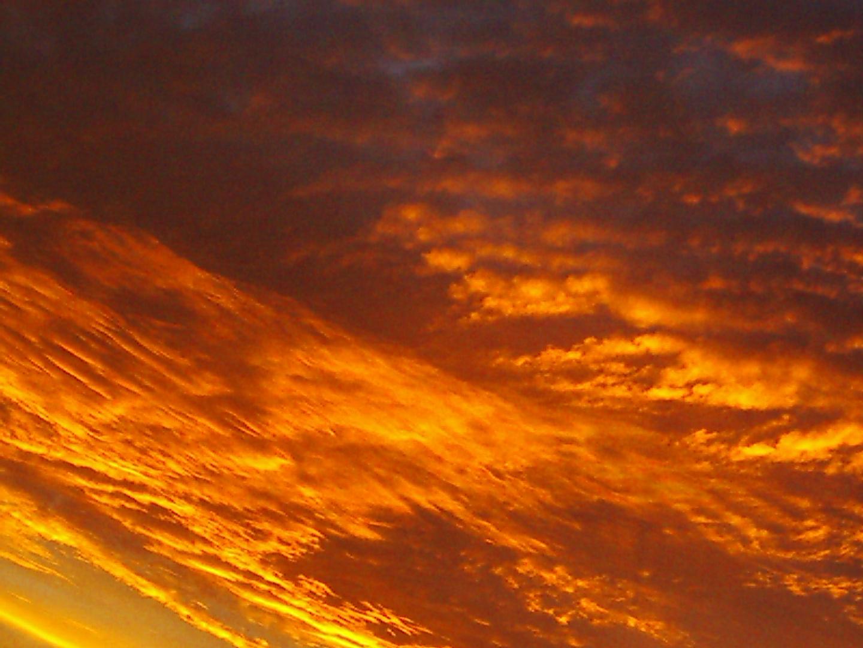 coucher de soleil la veille de noyel!!(ya 4 ans)