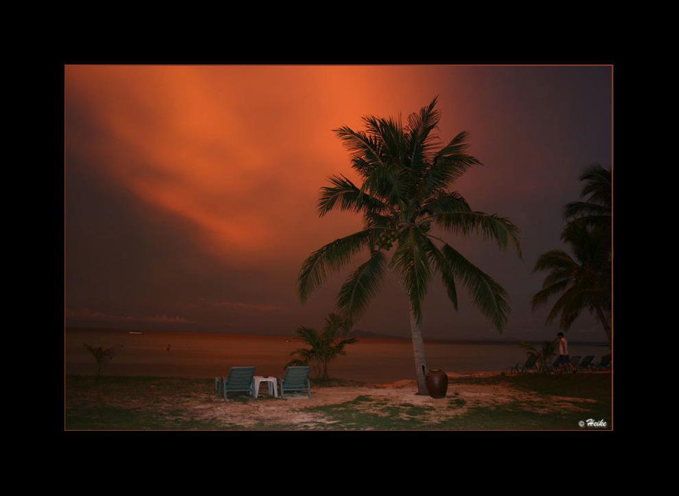 coucher de soleil Phi Phi Islande