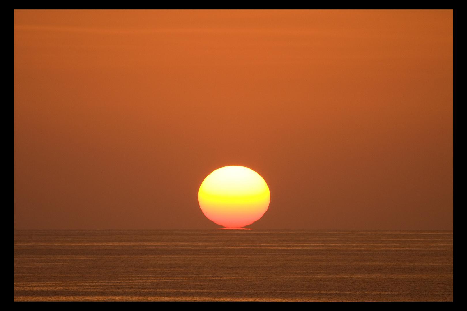 Coucher de soleil sur la Mer des Caraïbes (2)