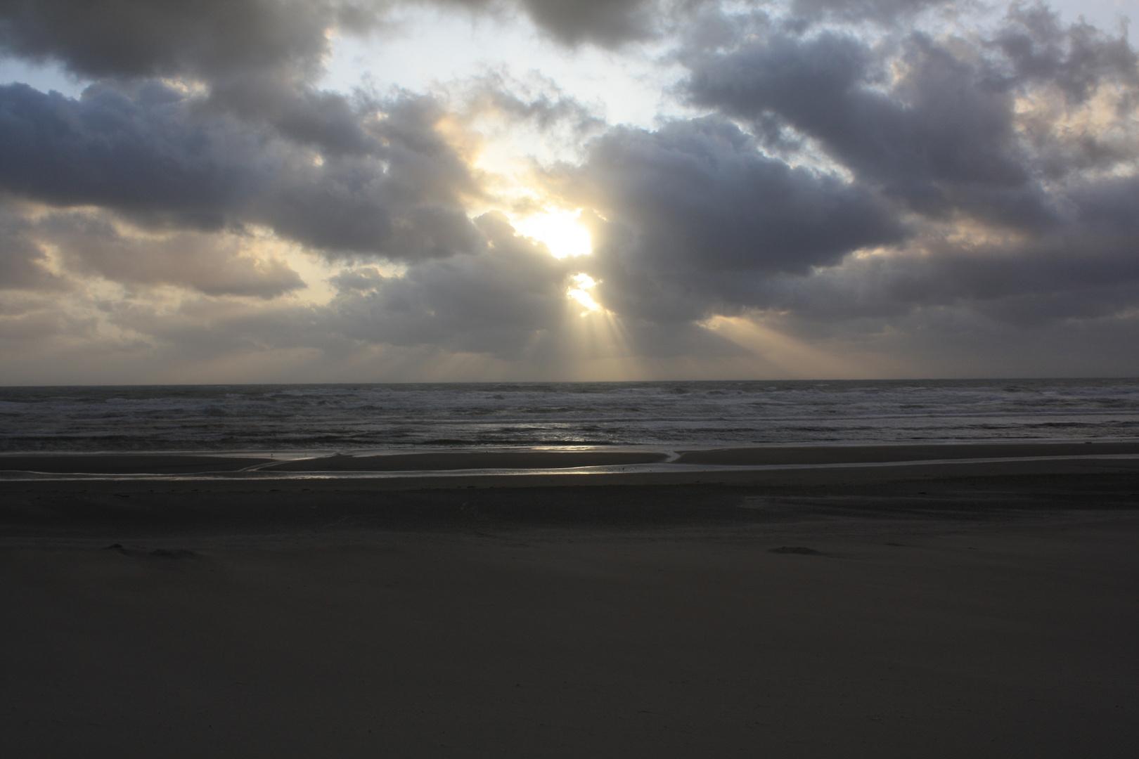Coucher de soleil...en Sommes