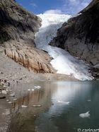 Coulée de glacier