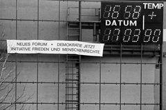 Countdown Volkskammerwahl 1990