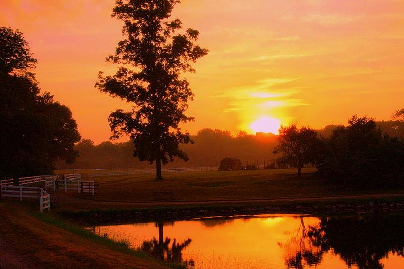 Country Sunset II
