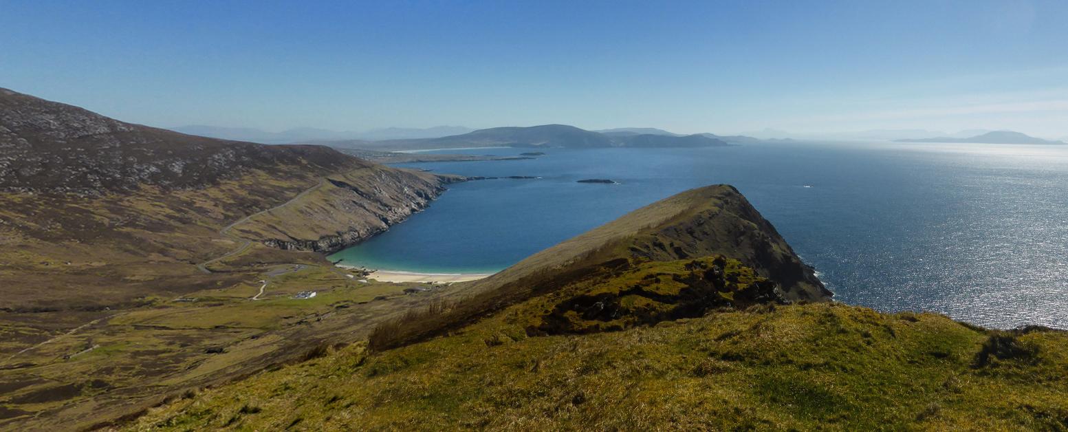 County Mayo - Die Bucht (Pano aus 513 und 515)