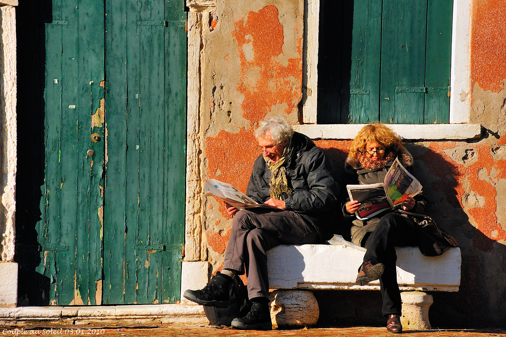 Couple au Soleil (03.01.2010)