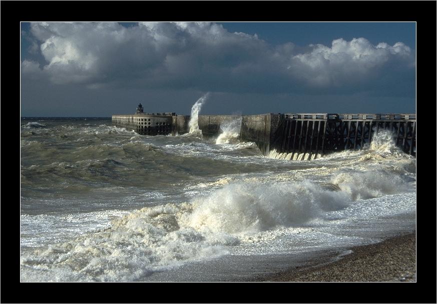 Coups de vent sur Dieppe