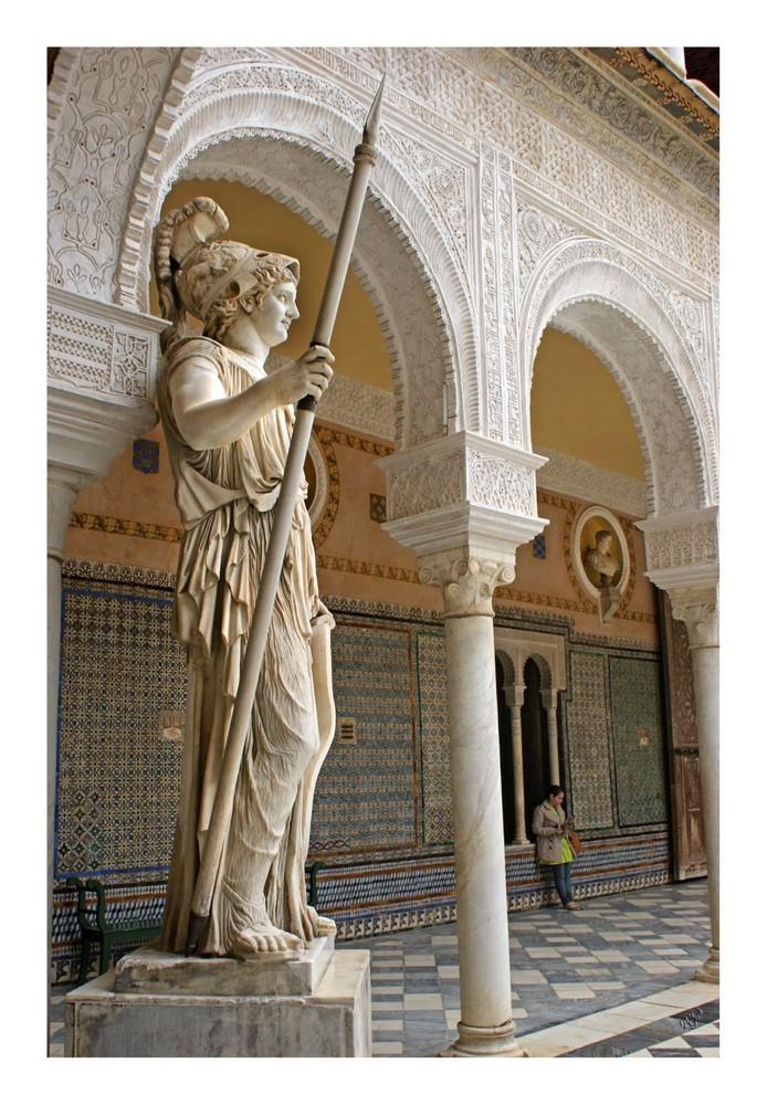 Cour intérieure de la maison de Pilate