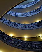 Courbes à l'escalier C