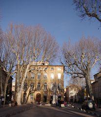 Cours Mirabeau, Aix en Provence (13) ....