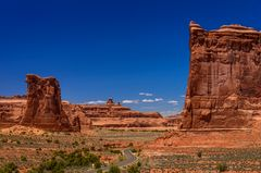 Courthouse Towers 1, Arches NP, Utah, USA