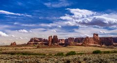 Courthouse Towers 2, Arches NP, Utah, USA