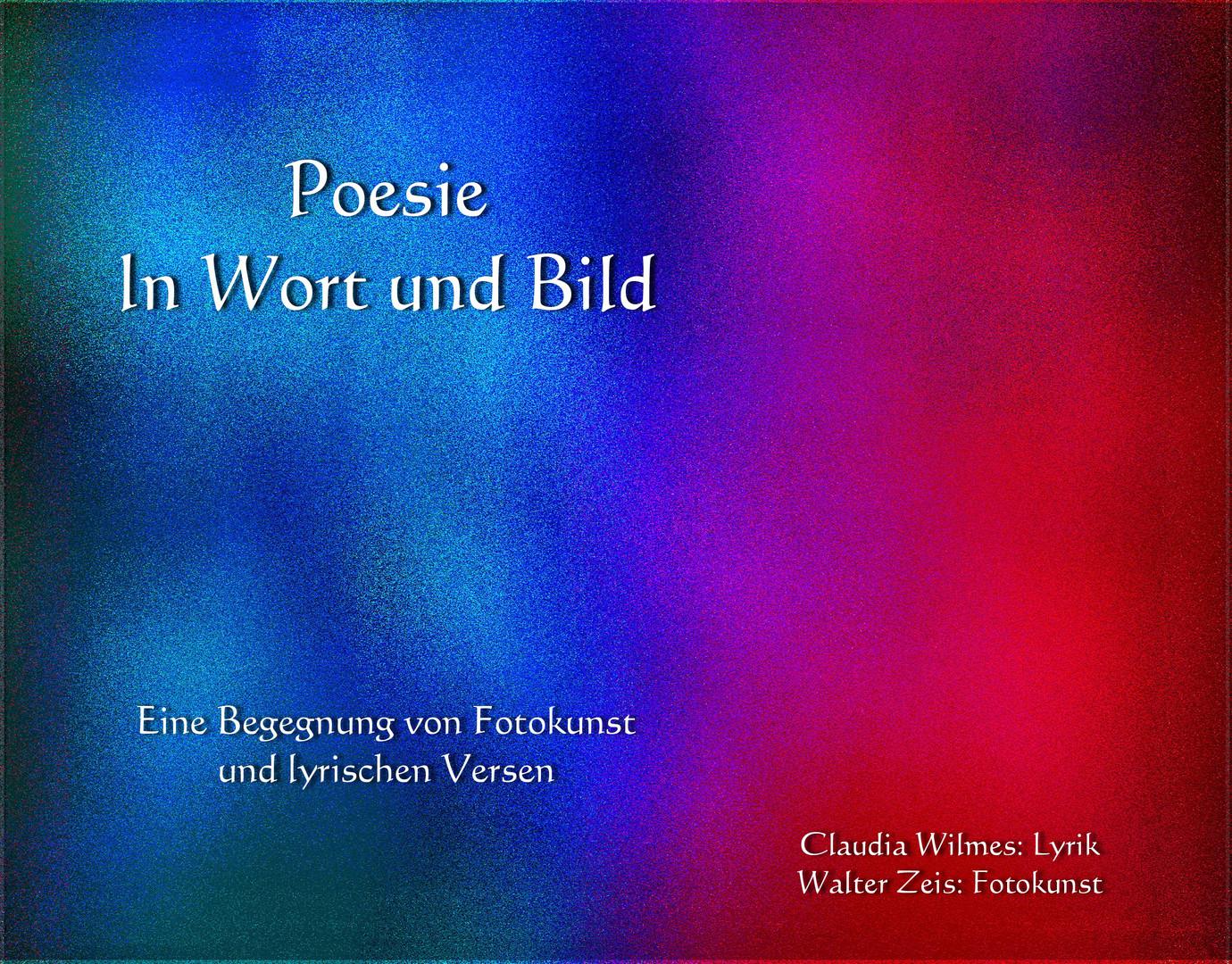 """Cover """"Poesie in Wort und Bild"""""""