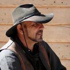 Cowboy in a black hat