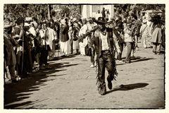 Cowboy in Afrika