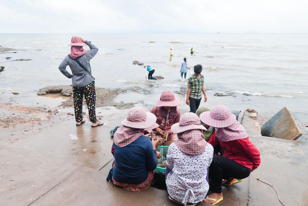 Crab Market in Kep, Cambodia 3