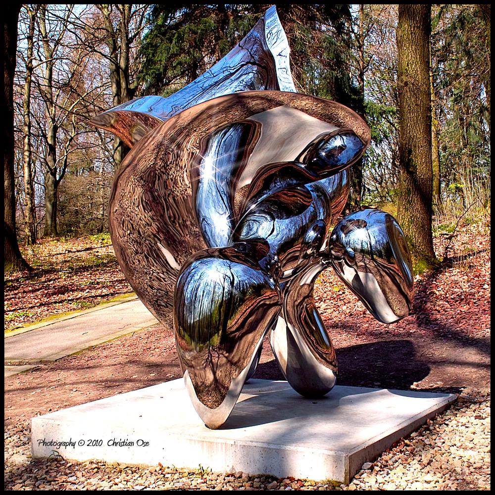 Cragg Skulptur