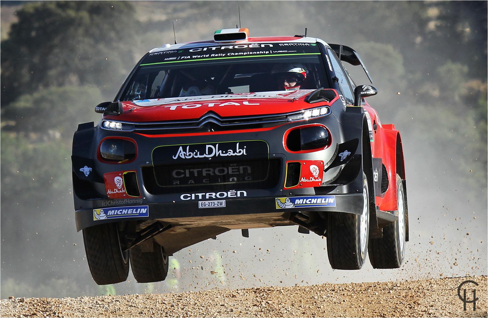 Craig Breen - WRC Rally Italia Sardegna 2017