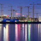 Crane-City @ night