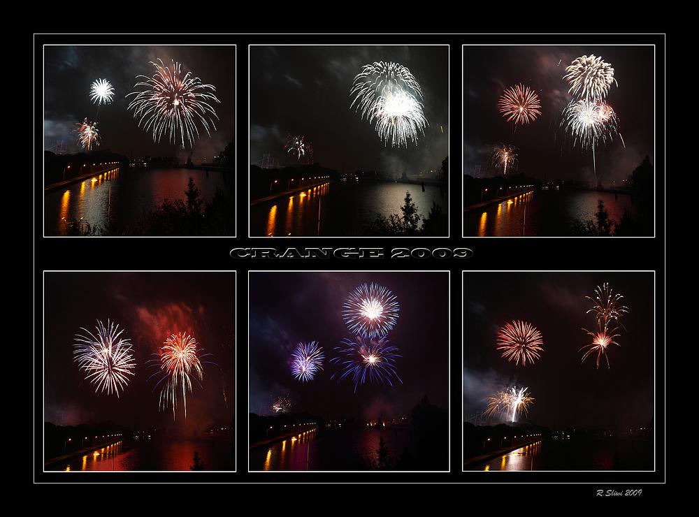 CRANGE Feuerwerk 2009